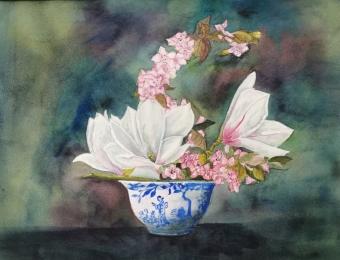 """Pot de fleurs 11"""" x 15"""""""